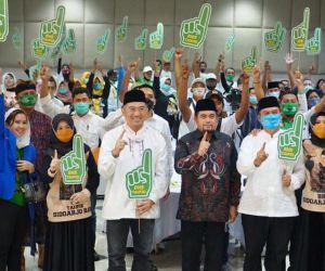 BHS-Taufiq Tutup Masa Kampanye, Teriakan Menang Menggema