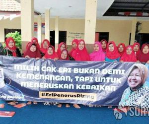 Warga Sambikerep Deklarasi Dukung Eri Cahyadi Maju di Pilwali Surabaya