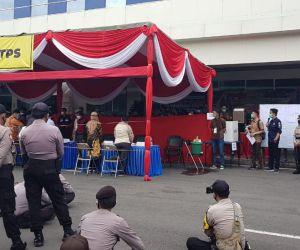 KPU Surabaya Lakukan Simulasi Coblosan di Pelabuhan Tanjung Perak