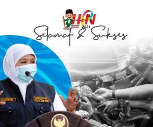 HPN 2021, Khofifah Dorong Pers Ikut Perangi Hoaks