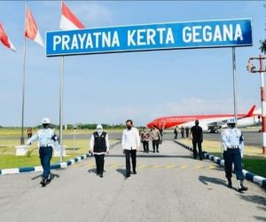 Presiden Jokowi ke Madiun Lihat Vaksinasi dan Bertemu Petani Porang