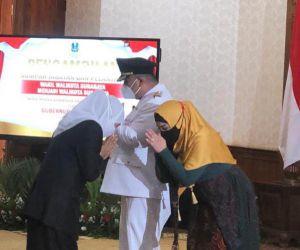 Sah! Khofifah Lantik Whisnu Sakti Jadi Walikota Surabaya Definitif.