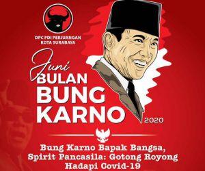 Hari Lahir Bung Karno: Spirit Gotong Royong Hadapi Pandemi Covid-19