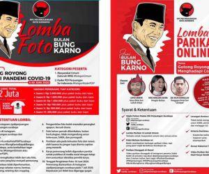 Berbagai Aksi Sosial PDIP Surabaya di Bulan Bung Karno