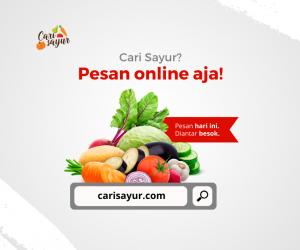 #DiRumahAja, Waktunya Belanja Sayur dan Buah Secara Online