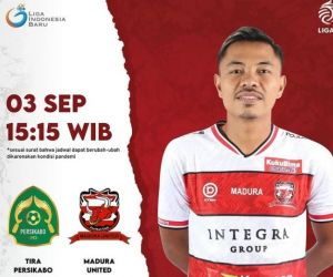 Madura United Ingin Bermain Gembira, PS Tira Ingin Menang